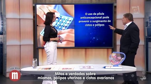 Miomas, Pólipos e Cistos | Claudio Basbaum TV Gazeta