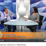 Dr. Claudio fala sobre menopausa no programa Consulta ao Doutor